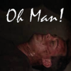 "jumpuphigh: Tim McGee lying on the ground with a bloody face. Text says, ""Oh Man!"" (McGeeOhMan)"