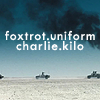 elizaria: generation kill text foxtrot.uniform.charlie.kilo (vin- gazing at the sky)