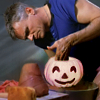 paian: Jack with a pumpkin on his pottery wheel (halloween jack by txduck)