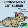 charamei: Inconvenient cutscene to the cat being dull. (EGS: Inconvenient Cutscene)