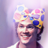 ghostyouknow: (Sam/Jared in pretty bow)