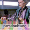 "eruthros: Delenn building the crystal machine in season 1  of B5, captioned ""foreshadowing"" (B5 - Delenn incredible foreshadowing)"