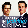 eleanorjane: Neal and Peter, partners in (solving) crime. (caffrey and burke)
