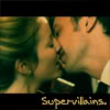 "alixtii: Lucy Saxon and the Master. Text: ""supervillains"" (villain)"