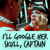 "wealhtheow: spock mindmelding with saavik, ""I'll Google her skull, captain"" (googleit)"