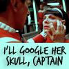 "wealhtheow: spock mindmelding with saavik, ""I'll Google her skull, captain"" (googleit)"