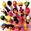 darchildre: a group of brightly colored PEZ dispensers (tasty and collectable)