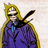 darchildre: rebis in a purple trenchcoat, looking enigmatic (rebis says:)