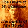 "alixtii: Ludwig Wittgenstein. Text: ""The Limits of My Language. The Limits of My World."" (Wittgenstein)"