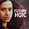 "wealhtheow: Picture of Gwen from Merlin with the words ""Future HQIC"" (GwenFromMerlin)"