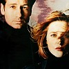 skieswideopen: Mulder and Scully, side by side (X-Files)