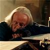 briar_pipe: Gaius sleeping on books (Gaius snooze)