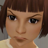 jayeless: a Sim-toddler getting cranky (zoe sprita)