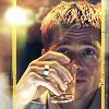 dira: Rusty Reed and a stiff drink. (Rusty - Drink)