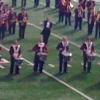 hakamadare: HUB drumline on field at 90th Reunion (harvard, band)