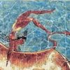 minoanmiss: Bull-Leaper; detail of the Toreador Fresco (Bull-Leaper)