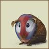 gnatkip: guinea pig / guinea fowl (fandom: HP - guineapigfowl)