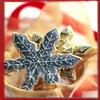 snottygrrl: plate of snowflake cookies (snowflake cookies)
