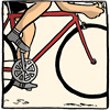 roadrunnertwice: Joe and bike, at top speed. (YehudaMoon.Joe - Liftoff)