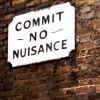 bossymarmalade: anti-nusiance sign (commit no nusiance)