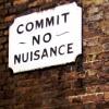 bossymarmalade: anti-nusiance sign (commit no nusiance)