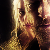 sashajwolf: jorah from game of thrones, watched by Daenerys (dany-jorah)