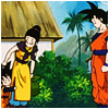 tenkuu: Gokuu meeting Goten. (Dragon Ball Z Gokuu & Goten)