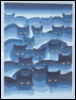aunty_marion: Heaps of blue cats (Smokey Mountain Cats)