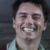 beccaelizabeth: Captain Jack Harkness smiles after Ianto propositions him (Jack stopwatch smile)