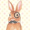 augustine: (mr rabbit)