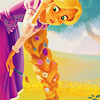 may_lily: (Rapunzel with flowers)