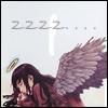 bloodyfangirl: I'm sleepy... (angel, anime, Haibane Renmei, sleep)