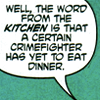 shadowvalkyrie: (Crimefighter Dinner)