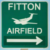 caffienekitty: Road sign directing to Fitton Airfield (fitton)