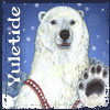 bethbethbeth: Polar Bear graphic for Yuletide fest (Yuletide Bear (chomiji))