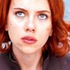 shanaqui: Natasha/Black Widow from the Avengers movie, close-up of her somewhat concerned face. ((Natasha) Uhoh)