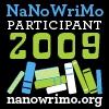somersault: NaNoWriMo Participant 2009 (NaNoWriMo)