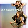 "elizaria: funny image of Teyla with Ronon failing at meditating, from Stargate Atlantis (sga- concentrate: Teyla&Ronon ""meditate"")"