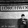 elizaria: Ianto reading a book under Torchwood sign (tw- Ianto reading in TW hub)