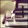 avalona_fawkes: a stack of books  (stack of books)