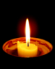 altars_and_shrines: (dish candle)