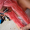 xoxomarina: ({ hair } » peach)