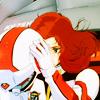 fiver: Gundam pilot looking serious. (mecha stuff, business)