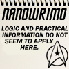 geminianeyes: Star Trek- Logic does not seem to apply here. Nanowrimo (Logic not applying)