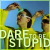 "hkellick: Weird Al's ""Dare to be Stupid"" Icon (Dare To Be Stupid)"