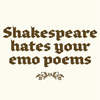 viridian: (text: emo Shakespeare)