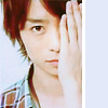 alianora: Sakurai Sho from Arashi, hand over one eye (Garden Girl)