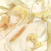 affectionatewinds: (349« ❀, All snuggled up with bro)