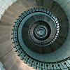 pouncer: (Spiral staircase)