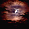 andothersuchphrases: The moon obscured by clouds (Bad moon rising)